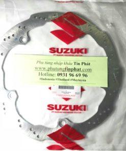 Dĩa thắng trước Suzuki Satria Fi răng cưa, dĩa 2017 - 2018